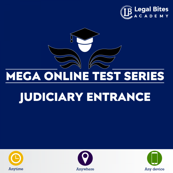 Judiciary Entrance Mega Online Test Series