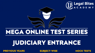 Judiciary Entrance Mega Online Test Series