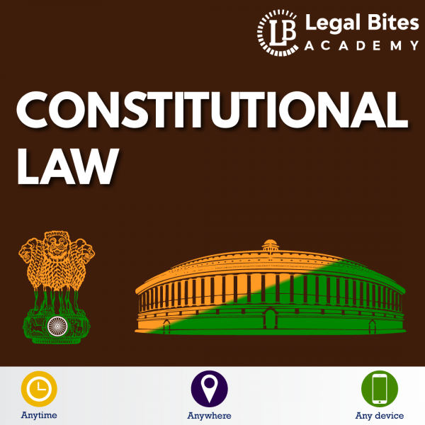 Constitutional Law Test Series LBA