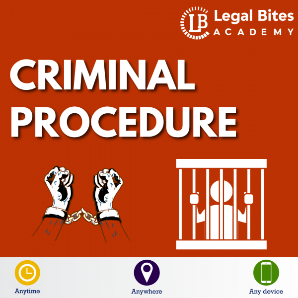 Criminal Procedure Test Series LBA