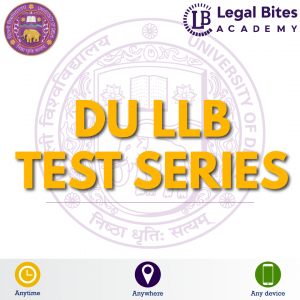 DU LLB Previous Year Test Series