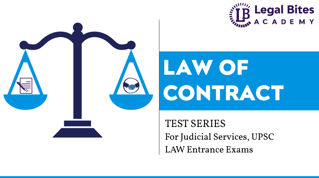 Law of Contract Test Series