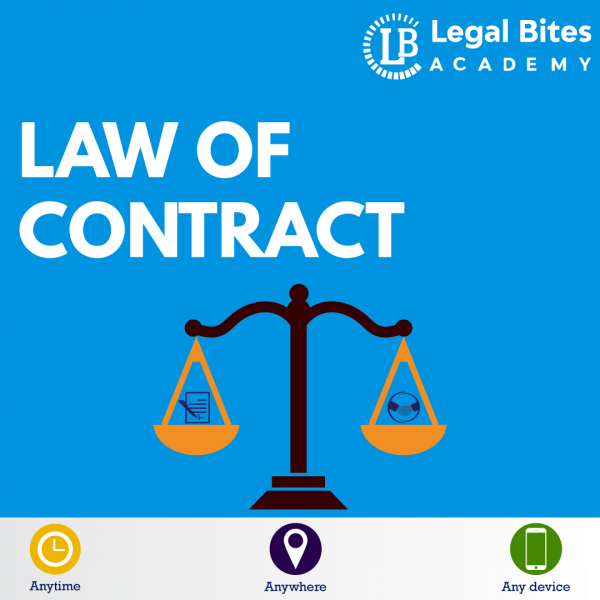 Law of Contract Test Series LBA