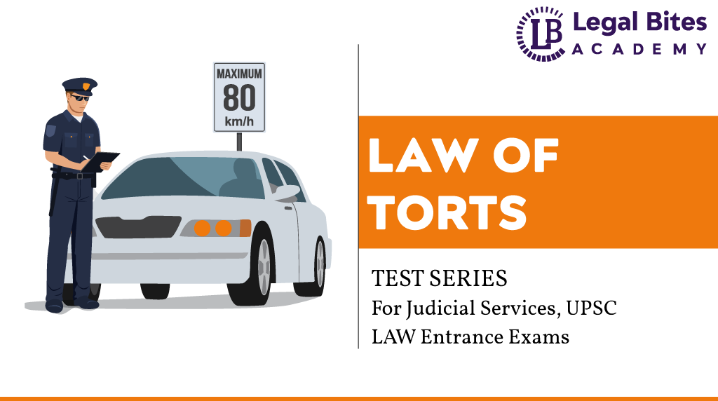 Law of Torts Test Series