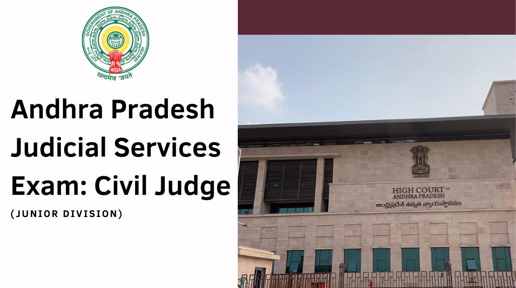 Andhra Pradesh Judicial Services Exam Civil Judge Junior Division
