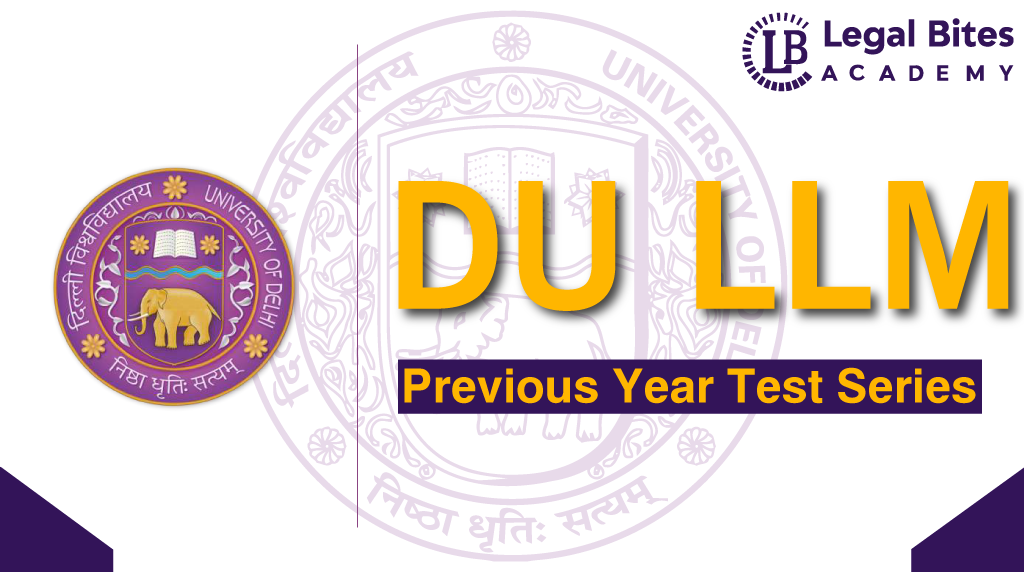 DU LLM Previous Year Test Series