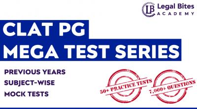 CLAT PG Mega Test Series Legal Bites