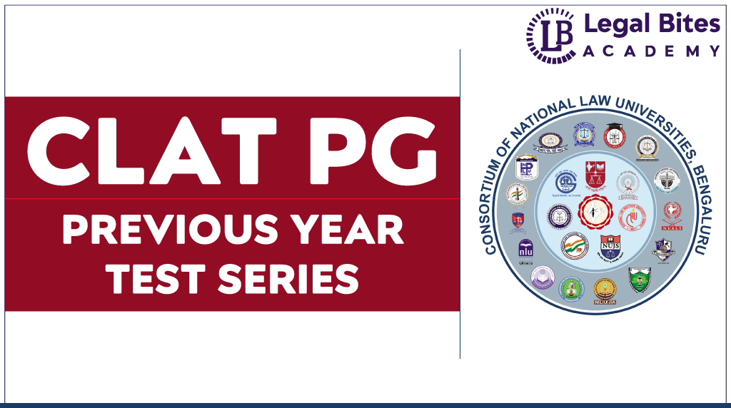 CLAT PG Previous Year Test Series