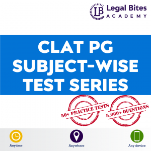 CLAT PG Subject-Wise Test Series