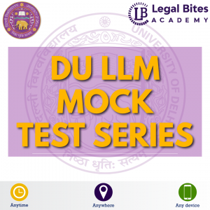 DU LLM 2021 Mock Test Series