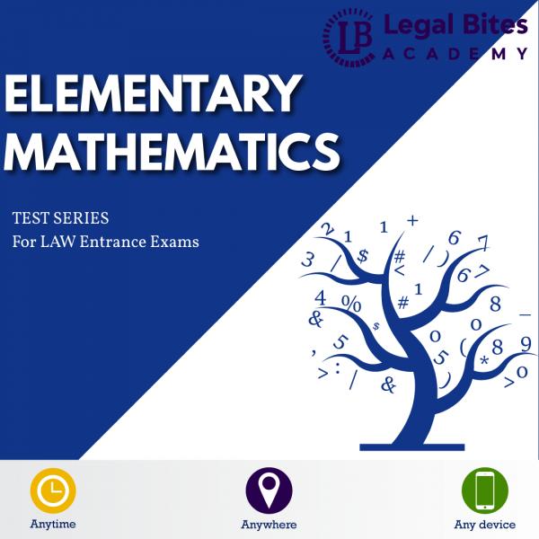 Elementary Mathematics CLAT UG Test Series Product