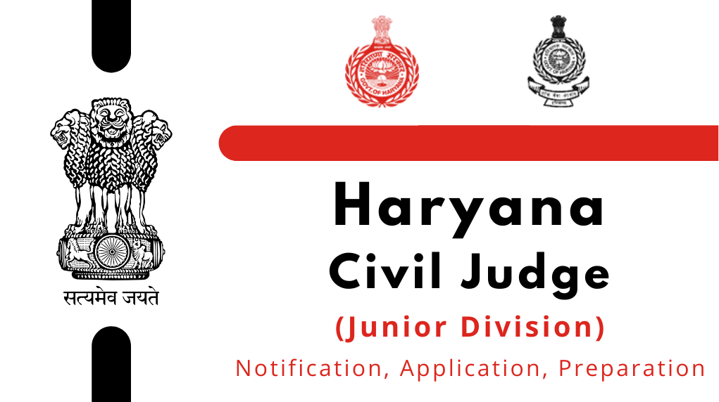 Haryana Civil Judge 2021 (Junior Division) Entrance Exam
