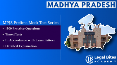 MPJS Mock Test Series (Prelims) | Madhya Pradesh Judicial Services
