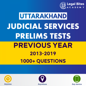 Uttarakhand Judicial Services Prelims Test Series Practice Online | UKPSC Previous Year