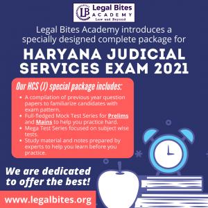 Haryana Judiciary Test Series 2021 Haryana Judiciary Test Series 2021 | HCS (Judicial Branch) Mega Test Series