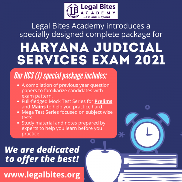 Haryana Judiciary Test Series 2021 Haryana Judiciary Test Series 2021   HCS (Judicial Branch) Mega Test Series