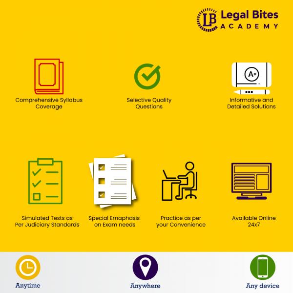 Judiciary Test Series Description
