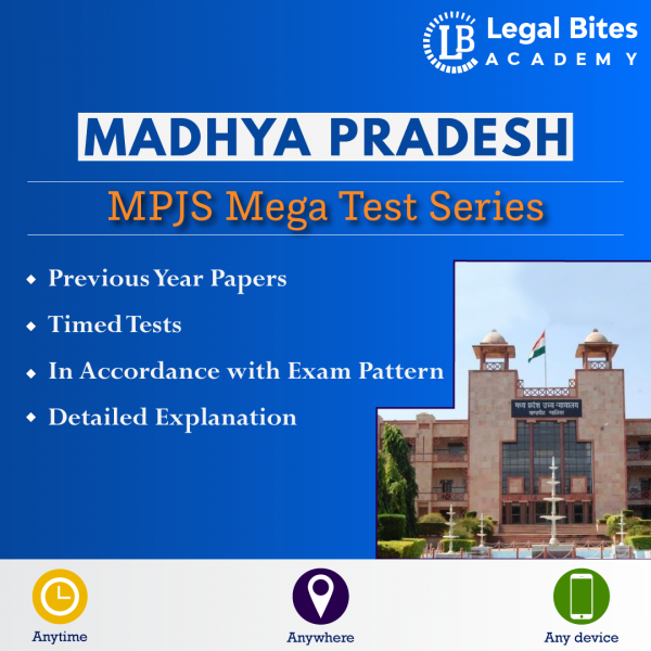 MP Judiciary Test Series Prelims | MPJS Mega Test Series