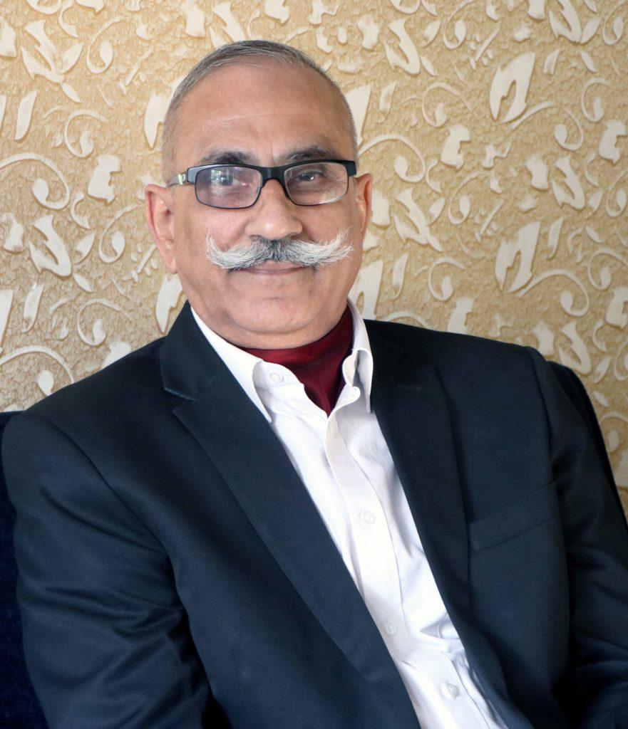 Maj Gen PK Sharma Retd