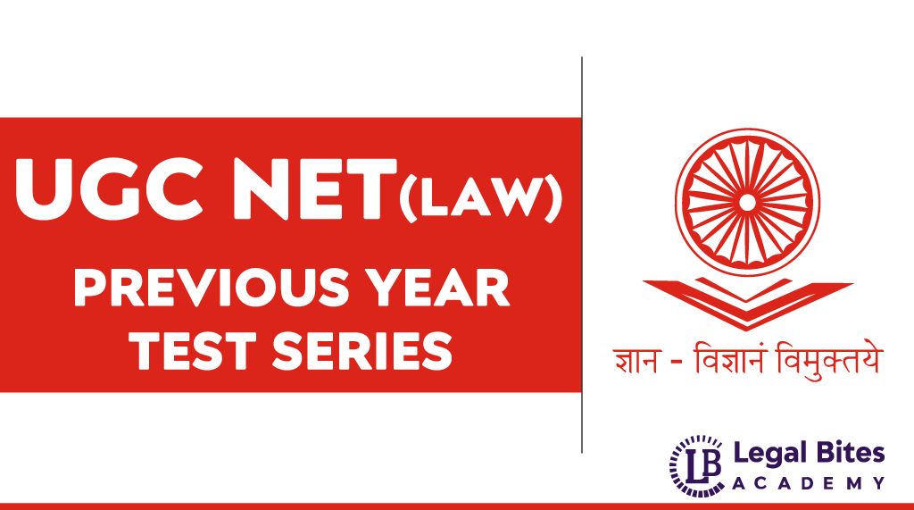 UGC NET Law Test Series | Previous Year
