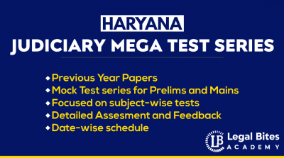 Haryana Judiciary Test Series 2021 | HCS (Judicial Branch) Mega Test Series