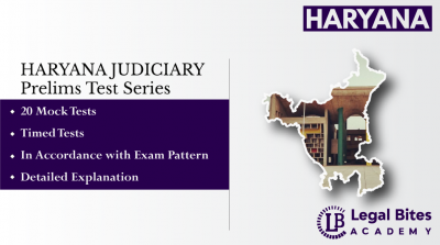 HJS Mock Test Series (Prelims) | Haryana Judicial Services