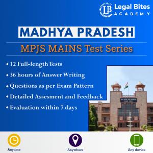MP Judiciary Mains Test Series | Madhya Pradesh Civil Judge Exam 2021