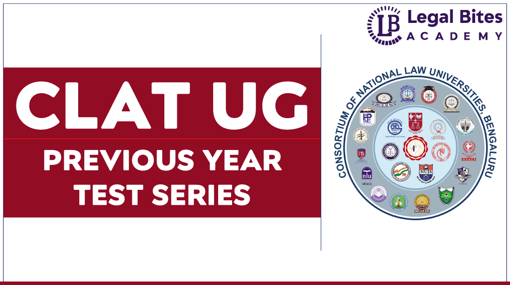 CLAT UG Previous Year Test Series
