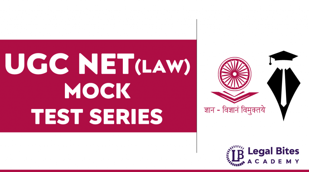 UGC NET Law Test Series