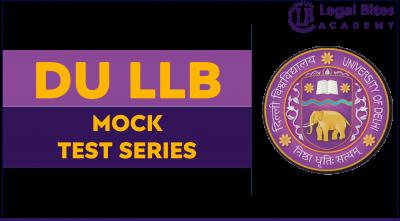 DU LLB Mock Test Series