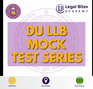 DU LLB Mock Test Series Product