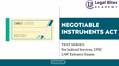 Negotiable Instruments Act Test Series LBA