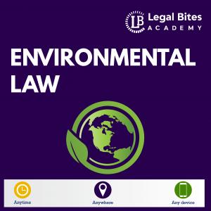 Environmental Law Test Series Woocommerce LBA