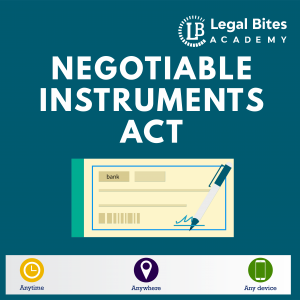 Negotiable Instruments Act Test Series Woocommerce LBA