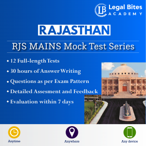 RJS Mains Mock Test Series Product
