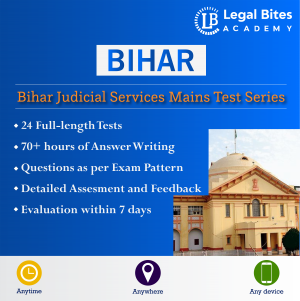 Bihar Judicial Services Mains Mock Test Series Product