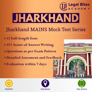 Jharkhand Judicial Services Mains Mock Test Series Product