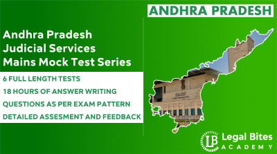 Andhra Pradesh Judicial Services Mains Mock Test Series