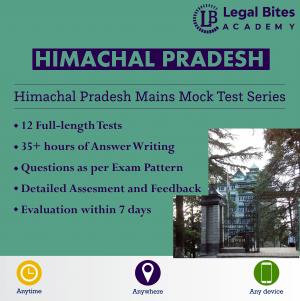 Himachal Pradesh Judicial Services Mains Mock Test Series