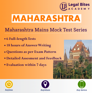 Maharashtra Judicial Services Mains Mock Test Series