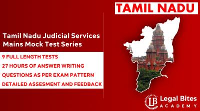 Tamil Nadu Judicial Services Examination