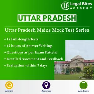 Uttar Pradesh Judicial Services Mains Mock Test Series