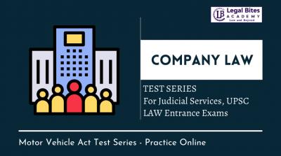 Company Law Test Series