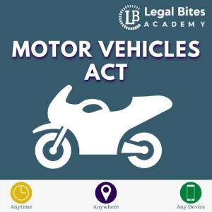 Motor Vehicle Act Test Series